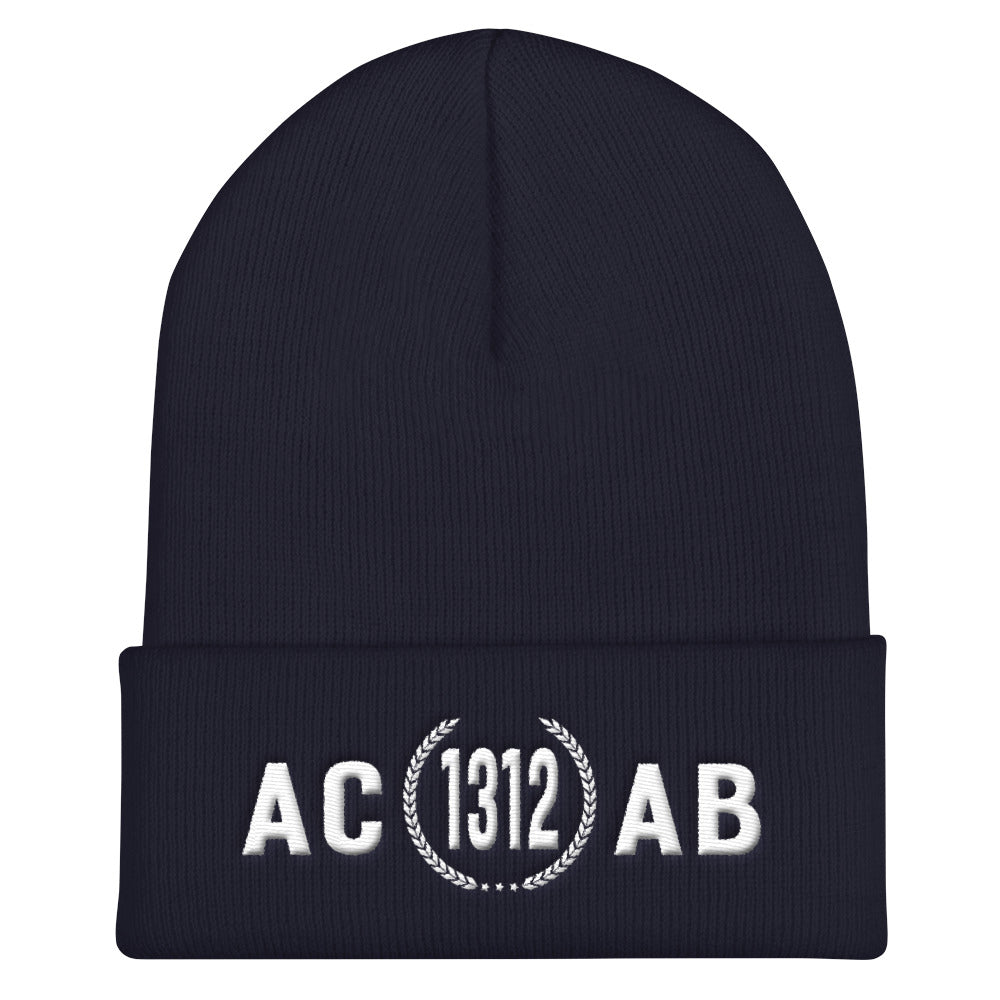 ACAB 1312 - Otto Cap Beanie Embroidered - Vandal Wisdom