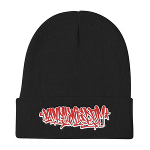Open image in slideshow, Handstyle Winter Hat [Red & White] - Vandal Wisdom