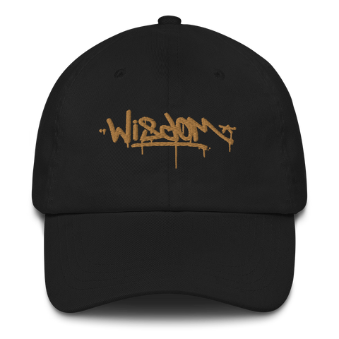 Old Gold Wisdom - Dad Hat - Vandal Wisdom