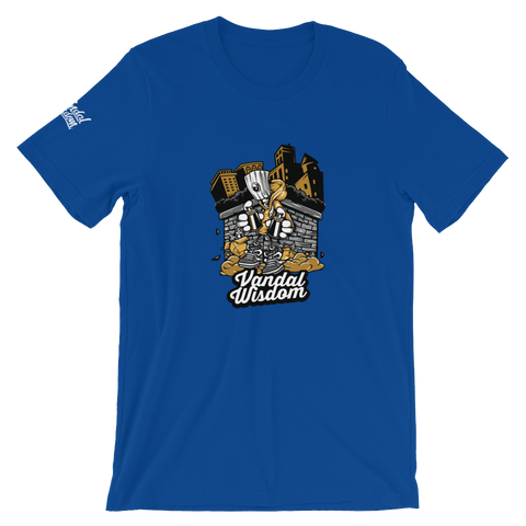 Graff Heads True Royal T Shirt