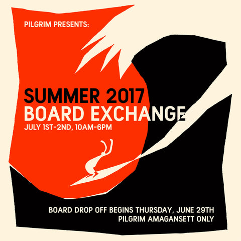 Pilgrim Amagansett Board Exchange 2017