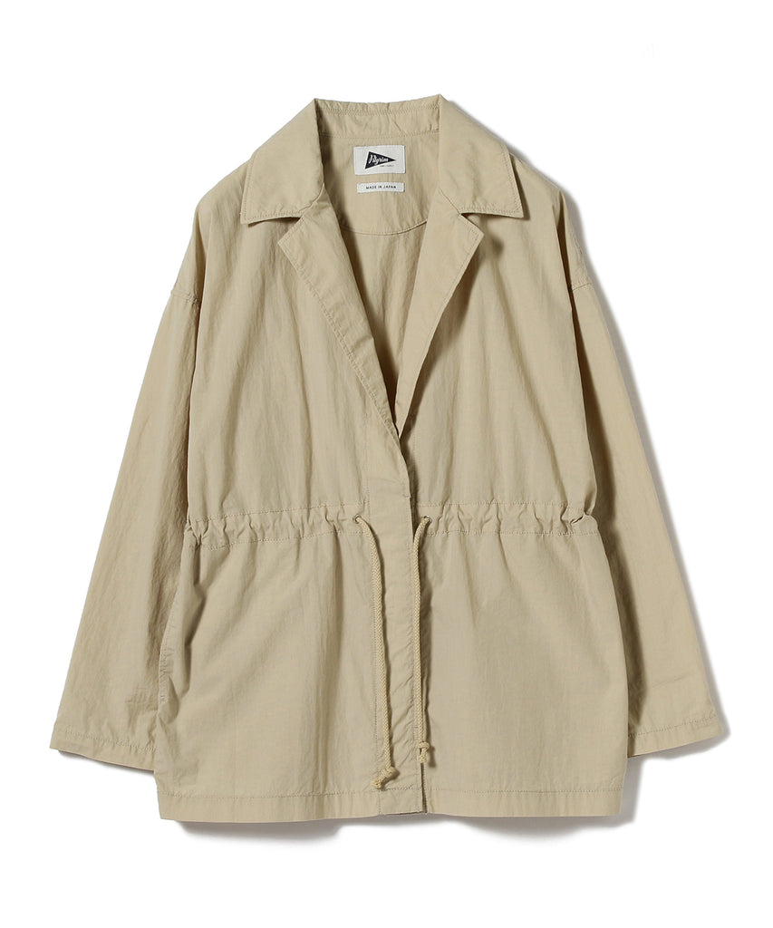 RAQUEL WASHED NYLON JACKET