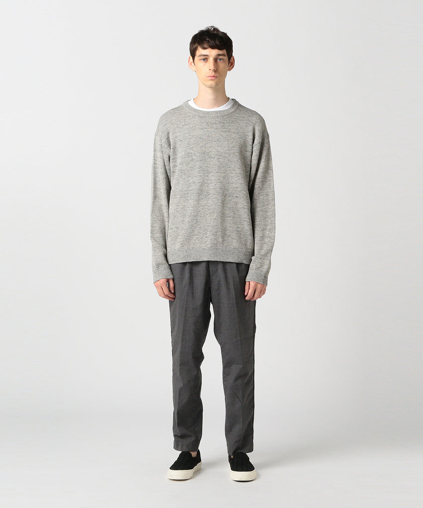 ORR LINEN CREW SWEATER