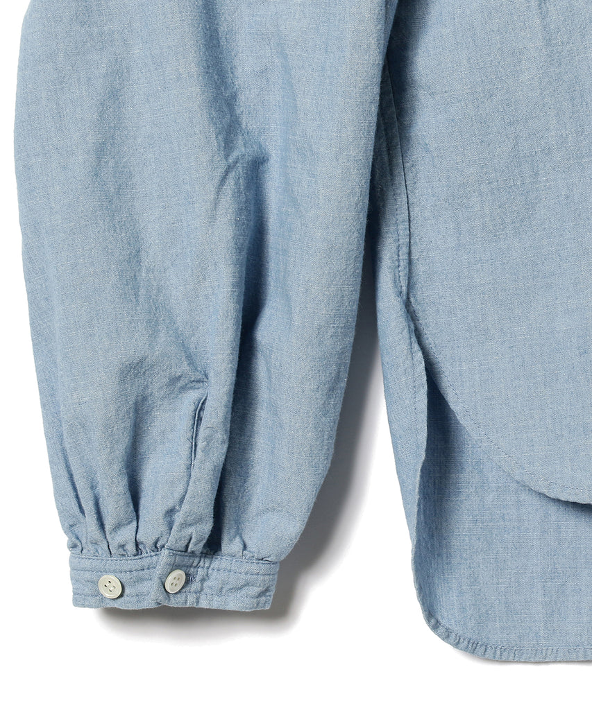 TURIYA CHAMBRAY PINTUCK SHIRT