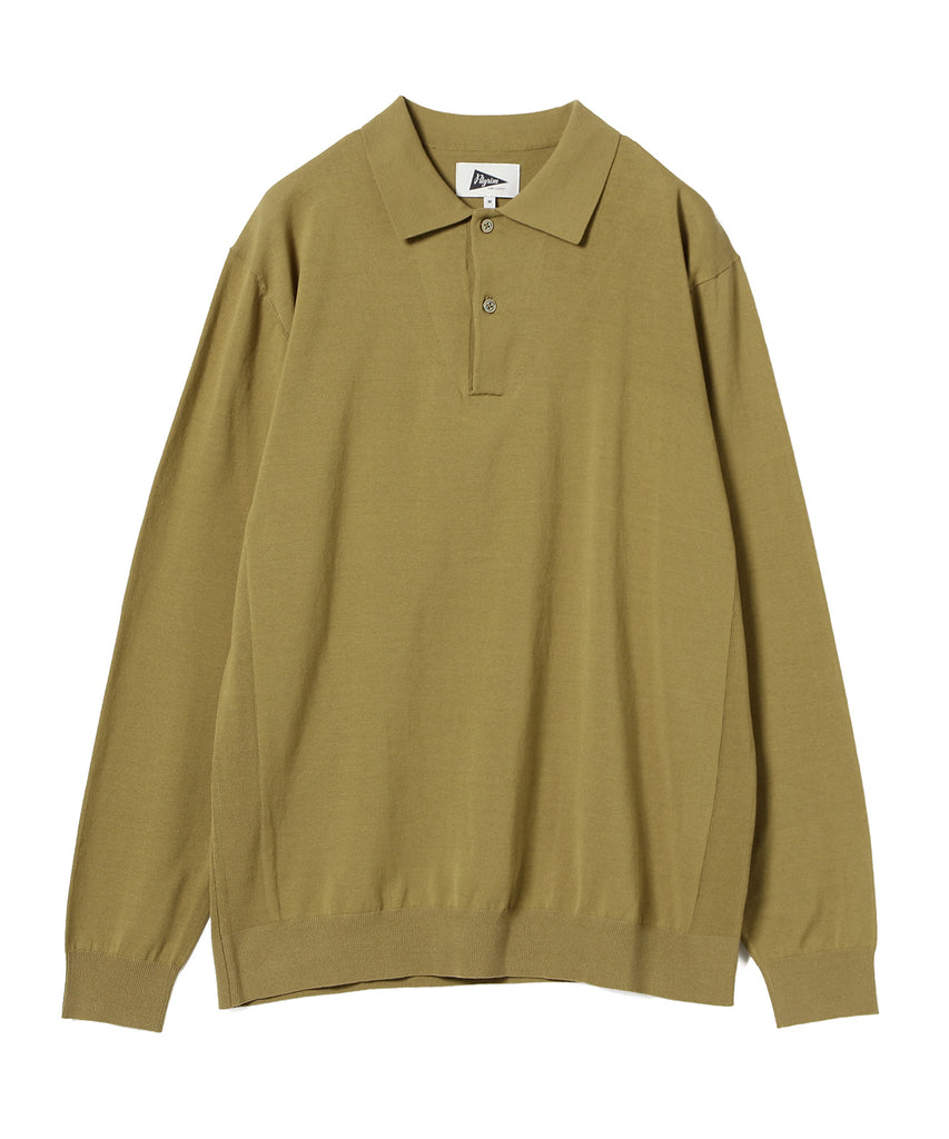 PARKER LONG SLEEVE POLO