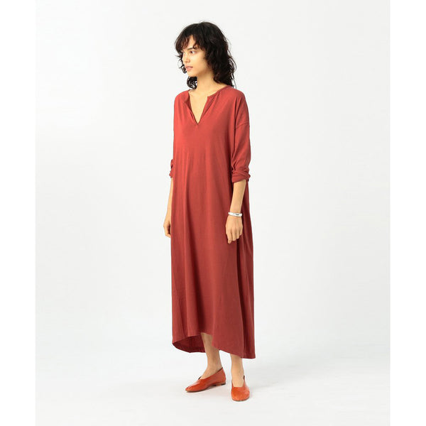 VICA COTTON DRAPE DRESS