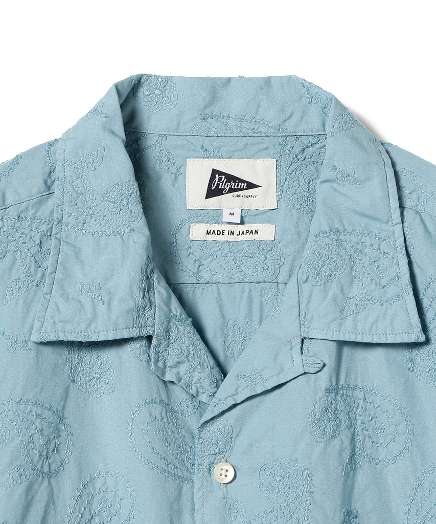 VINCENT SS EMBROIDERED SHIRT