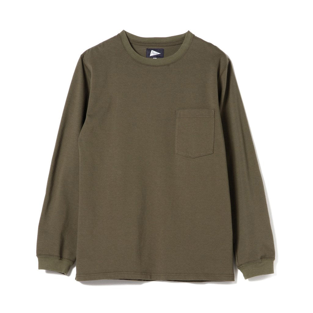 PILGRIM LS POCKET TEE