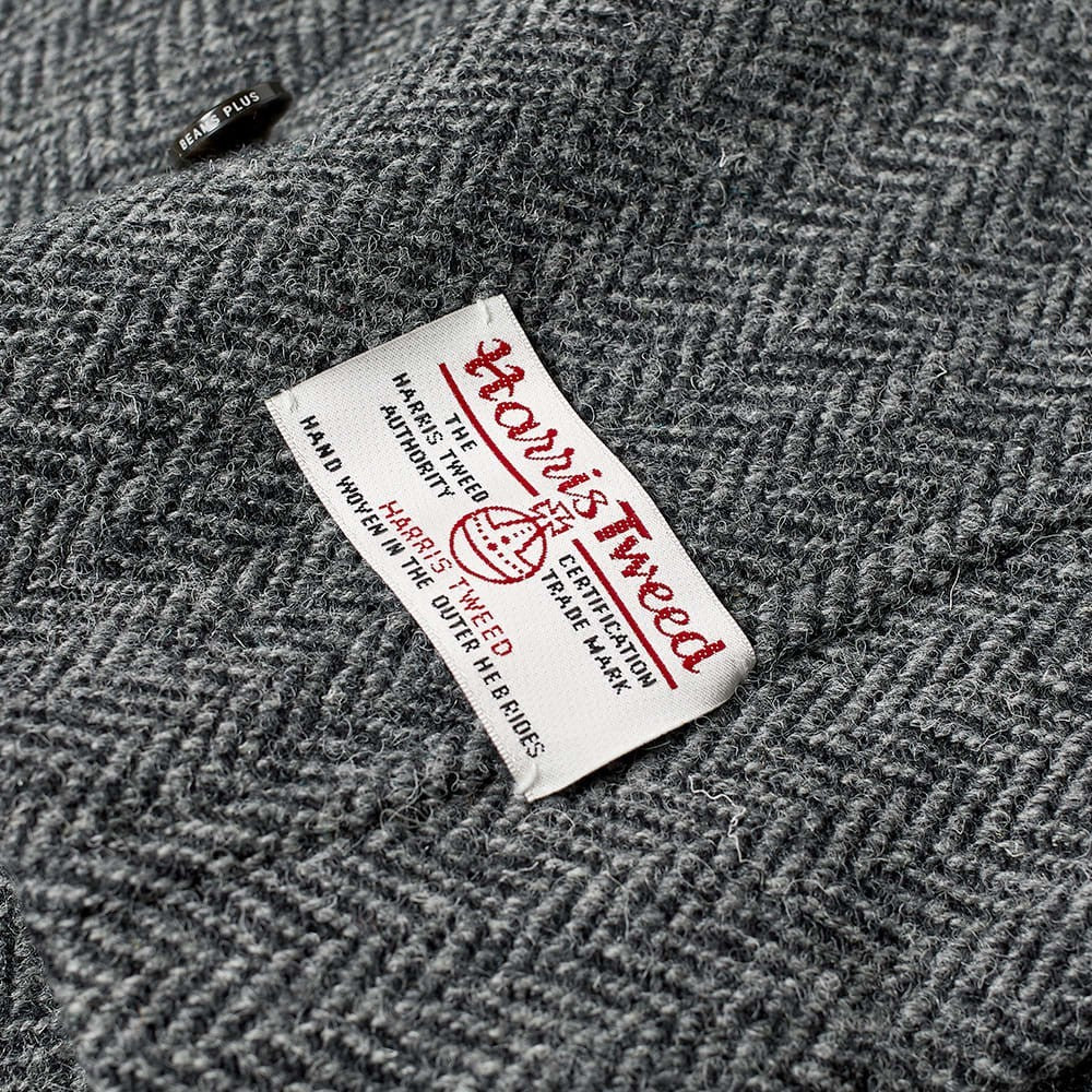 Harris Tweed Balmacaan Coat