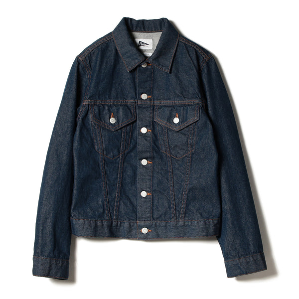 KASS DENIM JACKET, INDIGO