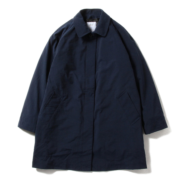 BECKY BALMACAAN DOUBLE COAT, NAVY