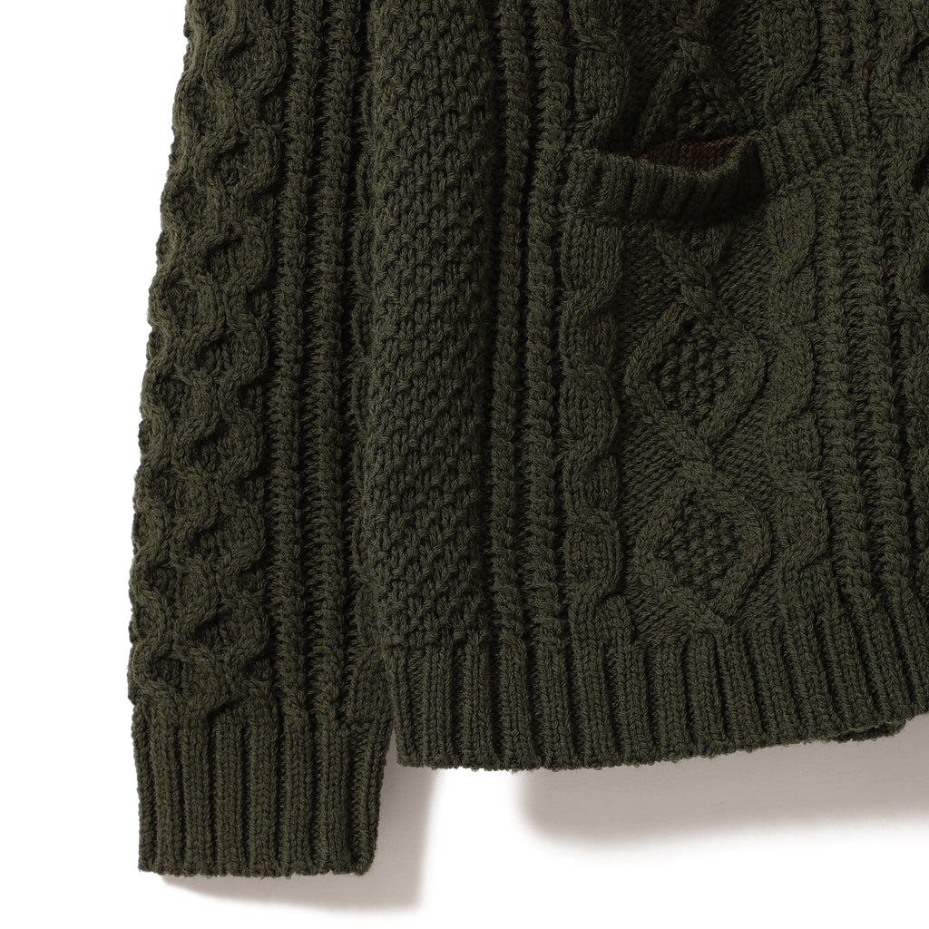 Luc Cable Cardigan