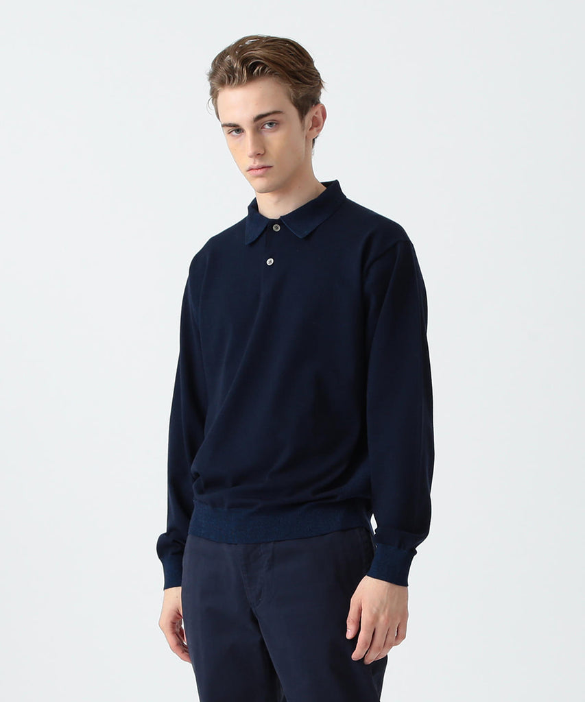 JOOSS PLAITED WOOL POLO