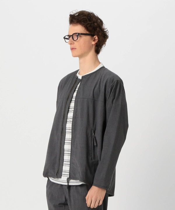 GEORGE STRETCH TROPICAL WOOL SHELL JACKET