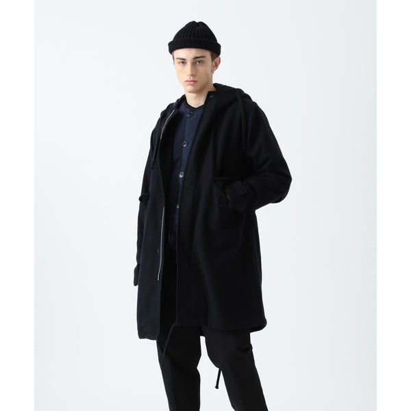 ROBINS COMBAT WOOL HOODED PARKA