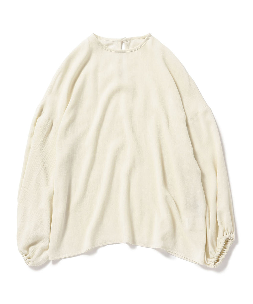 MARIETTA GATHERED GAUZE SHIRT