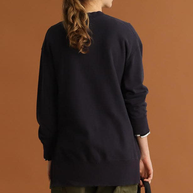 CASEY SIDE SLIT SWEATSHIRT
