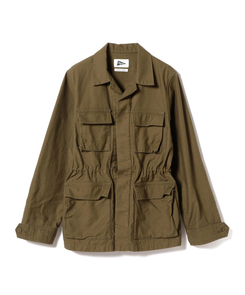 MARY LOU COTTON ARMY JACKET