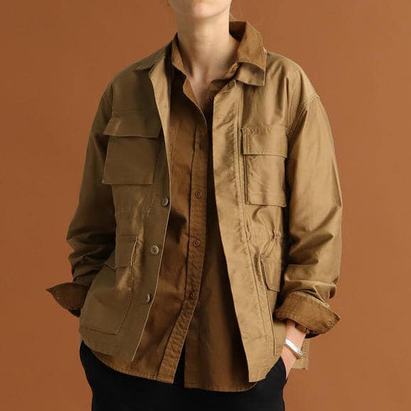 ALEX DROP SHOULDER JACKET
