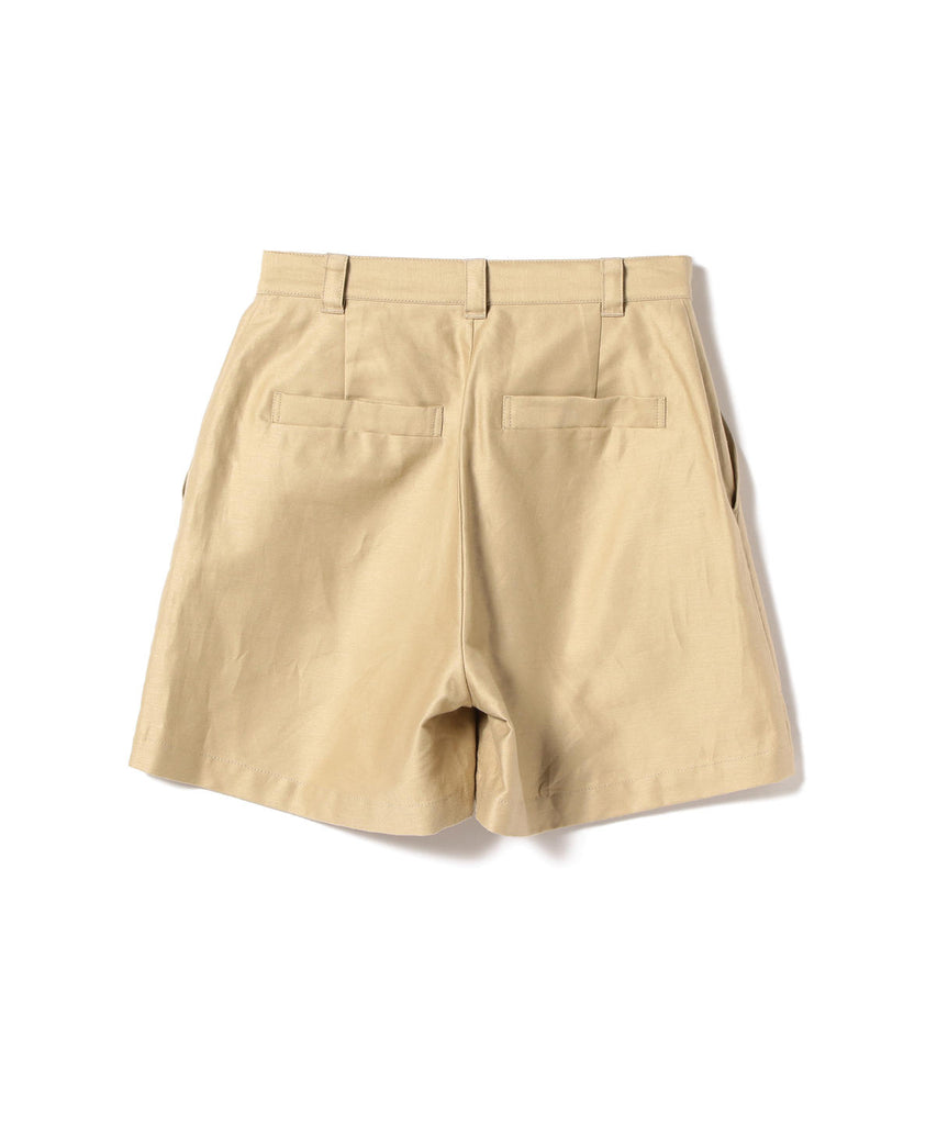 MEGAN COTTON AND LINEN SHORT