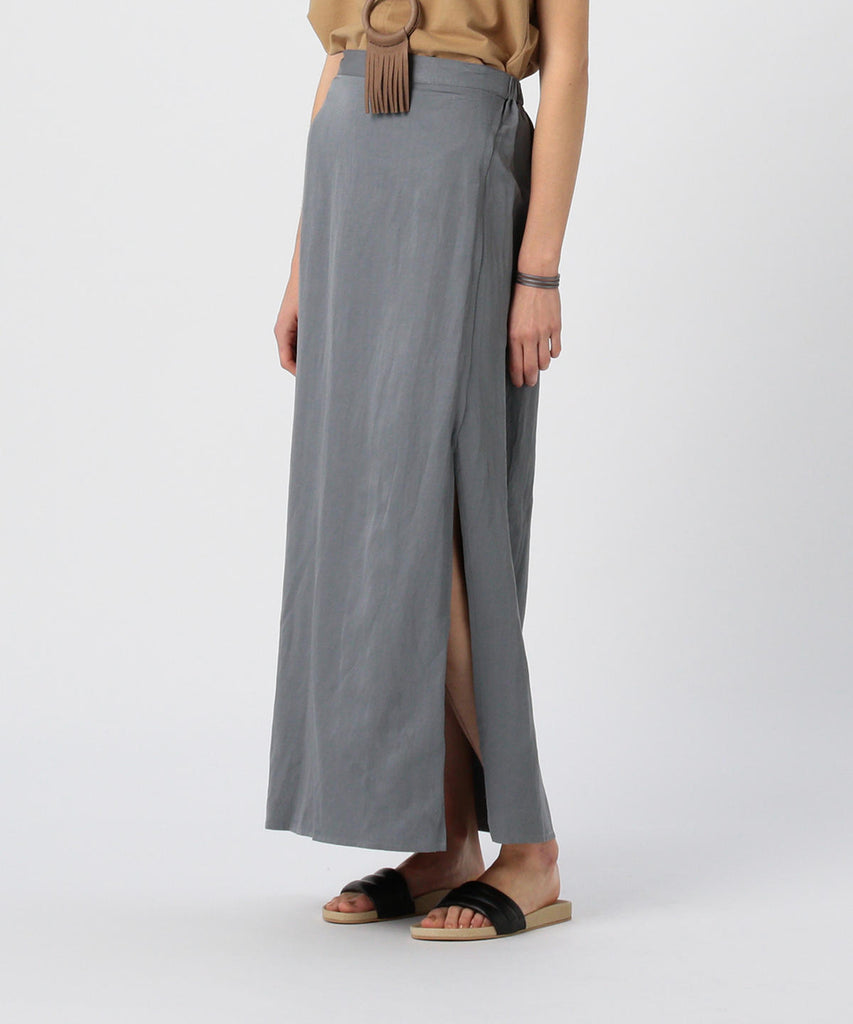 GAIL LIGHTWEIGHT WRAP SKIRT