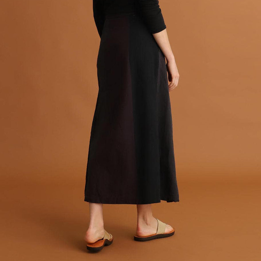 LINA AIZU WRAP SKIRT