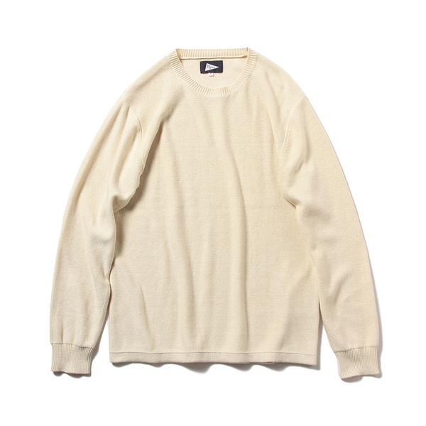 ONSHORE CREWNECK SWEATER, OFF WHITE