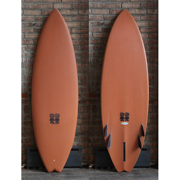 "5'11"" CAMPBELL BROTHERS BABY SWALLOW SHORTBOARD"