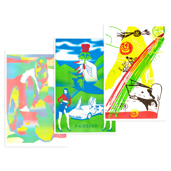 OVER UNDER ROOM RISOGRAPH PRINT 3-PACK