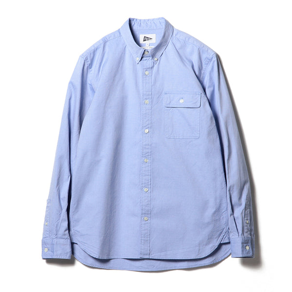 BUBBIE BUTTON DOWN OXFORD, BLUE