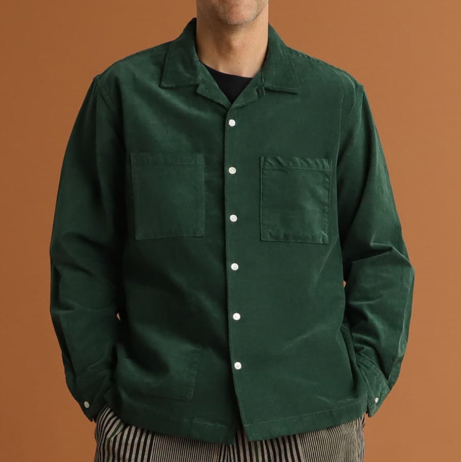 VINCENT ENGINEERED CORD SHIRT