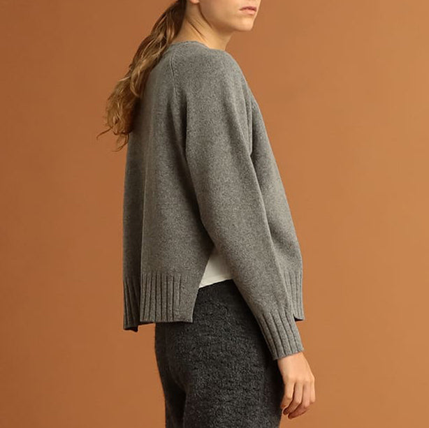 TINLEY MERINO CREW NECK SWEATER