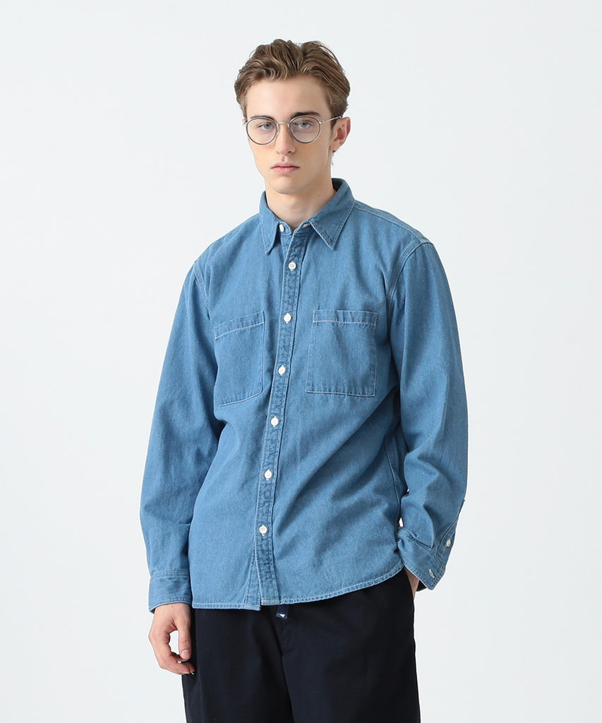 PAYNE INDIGO DENIM WORK SHIRT