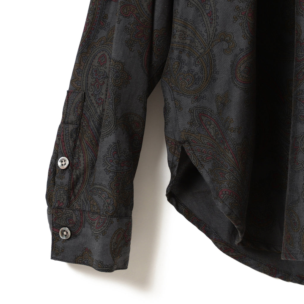 EVE PAISLEY POPOVER SHIRT
