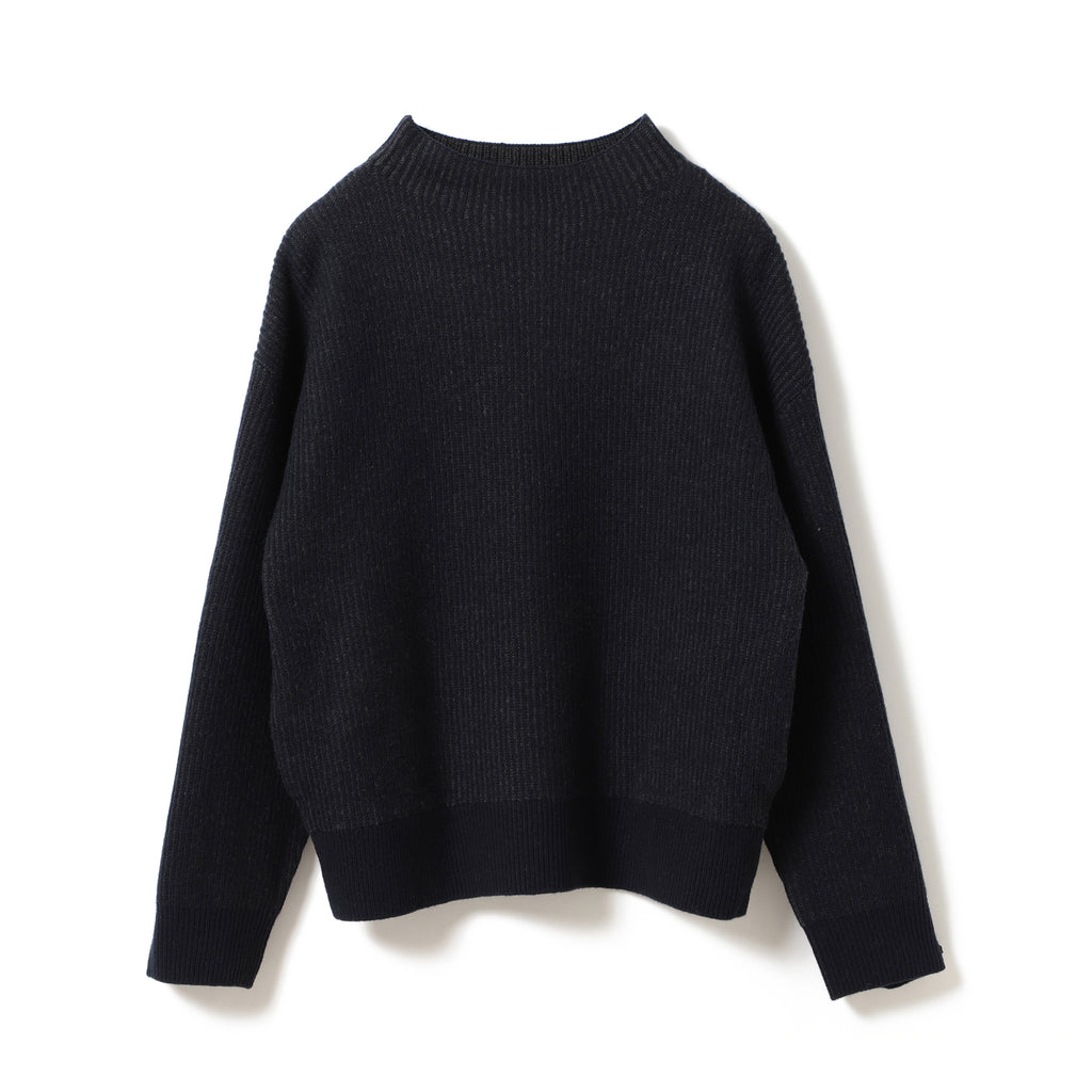 ECHO MERINO FUNNEL NECK SWEATER
