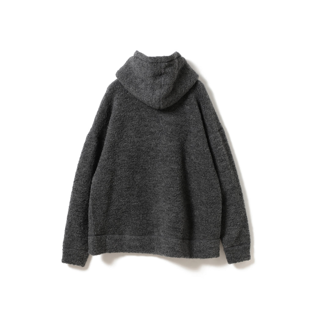 DOVE BRUSHED WOOL HOODIE