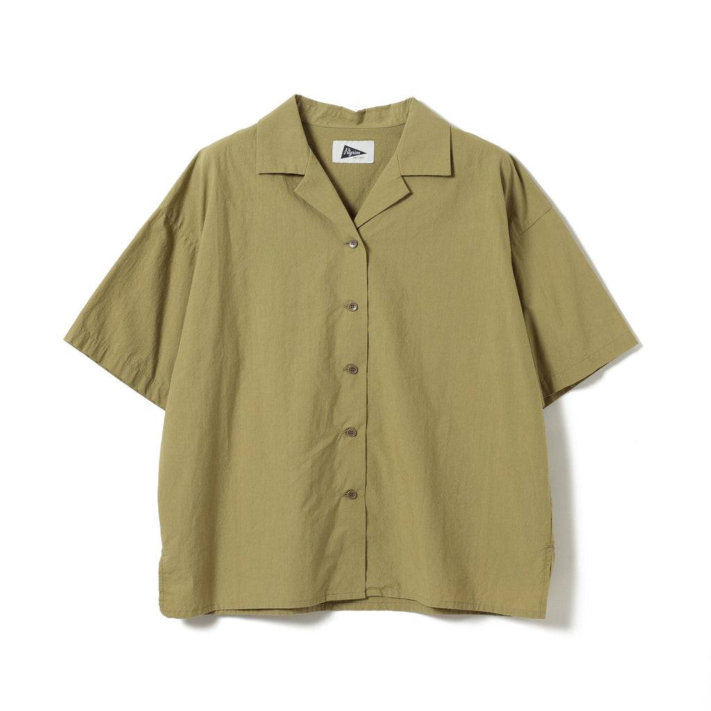 ALLANA BOXY CAMP SHIRT