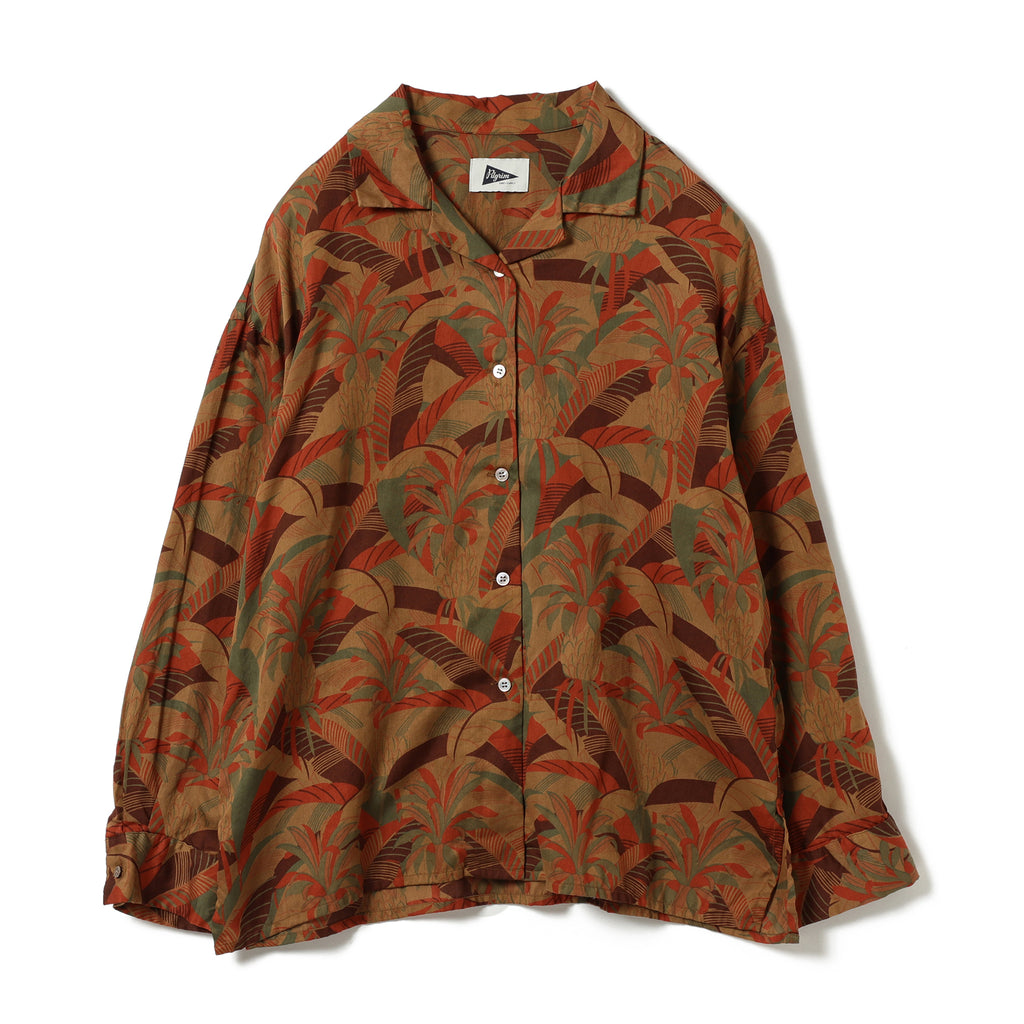 COCO PRINTED CAMP SHIRT