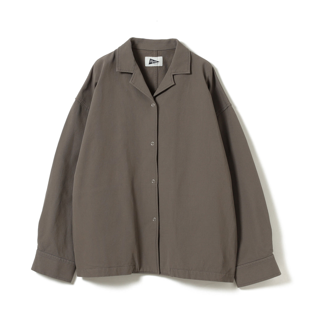 NADINE ORGANIC COTTON SHIRT JACKET