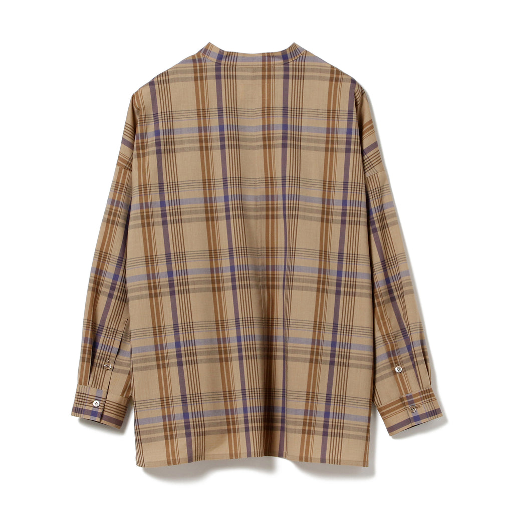DEANNA WOOL PLAID SHIRT