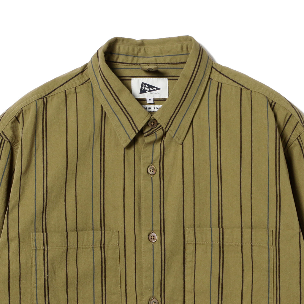 TRENT BUTTON DOWN STRIPE SHIRT
