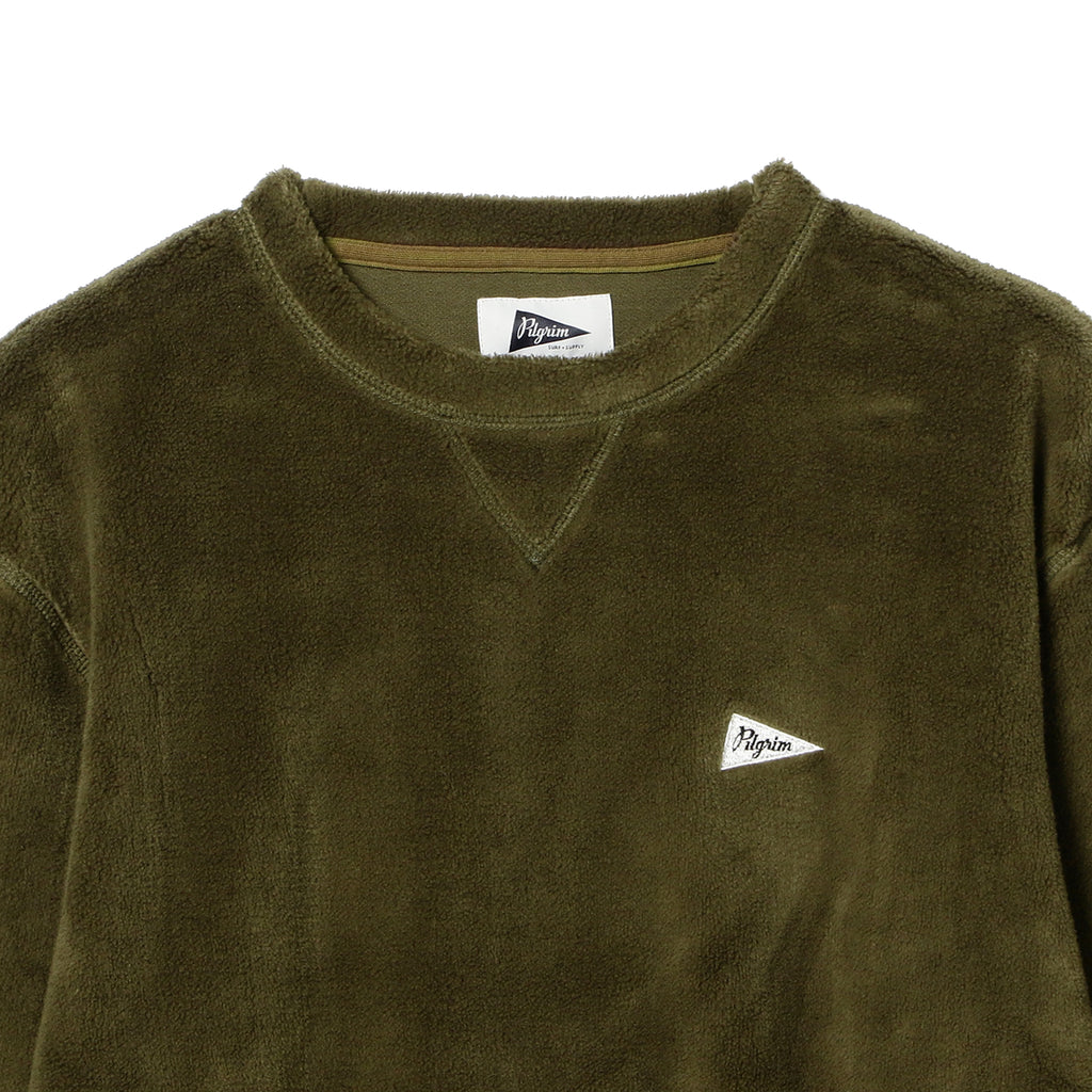 KAGAN FLEECE PENNANT CREW