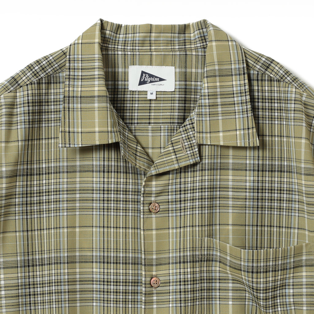 SAM SS PLAID SUMMER WOOL SHIRT