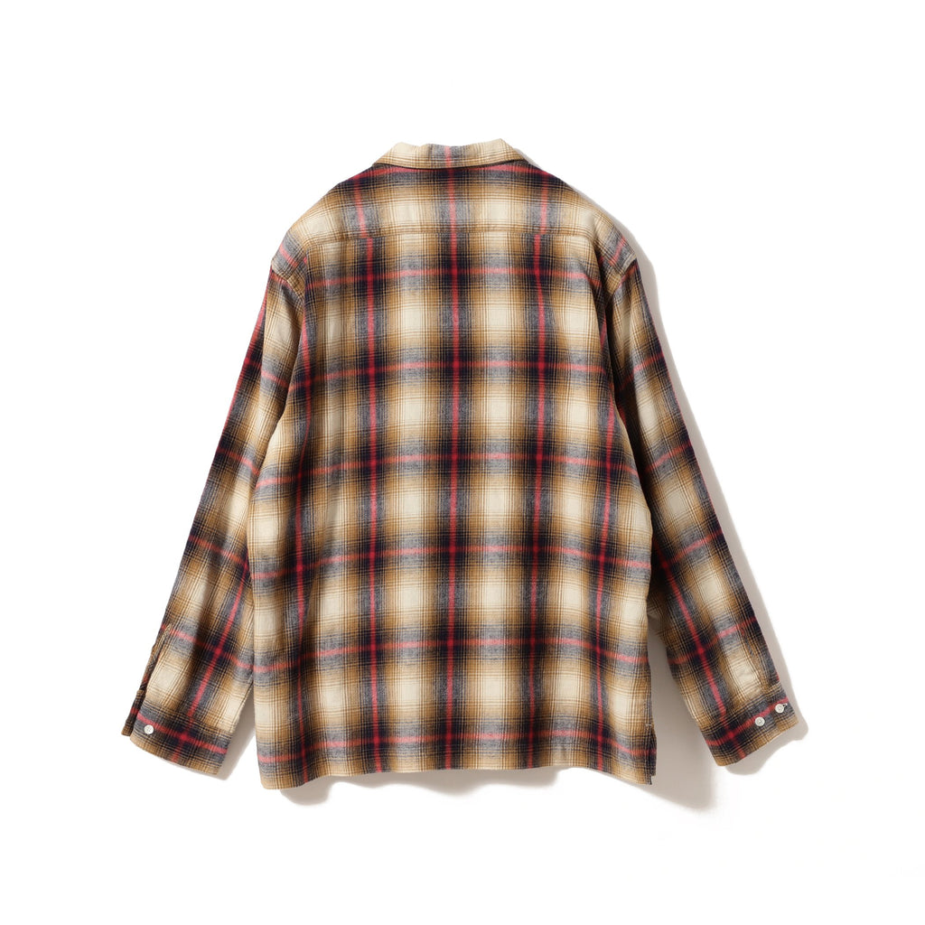 VINCENT OMBRE CHECK SHIRT