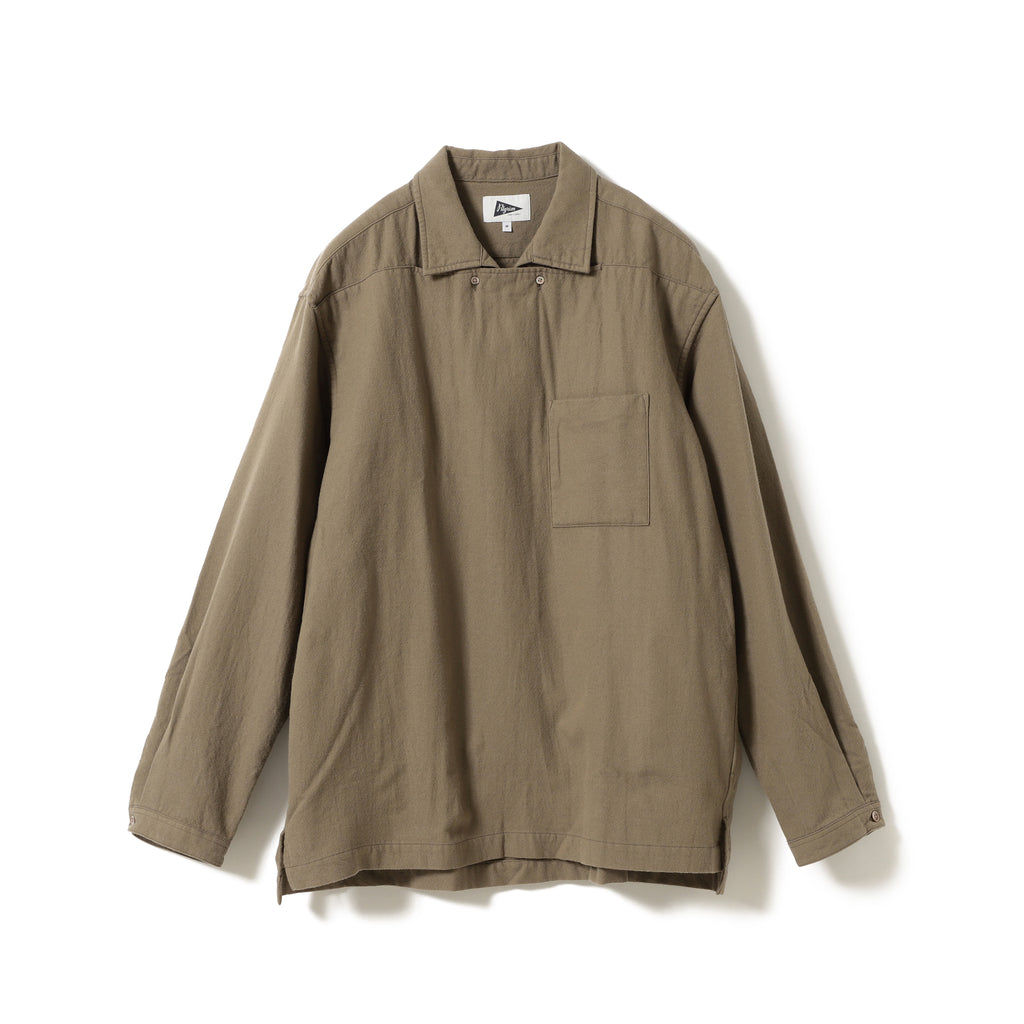 BOCK TWO-BUTTON POPOVER SHIRT
