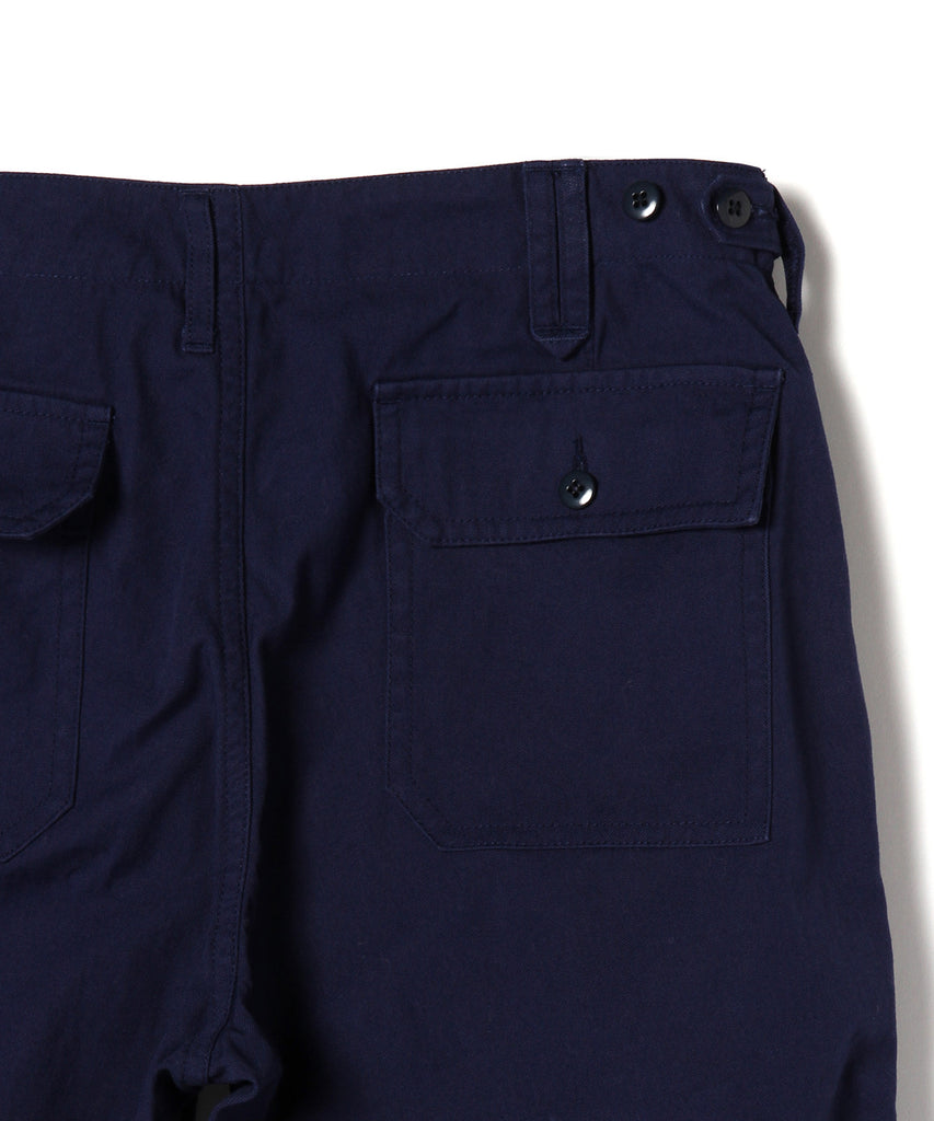 LEROY CANVAS FATIGUE PANT, NAVY