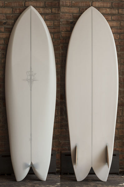 "6'0"" RYAN BURCH SIDECUT FISH"