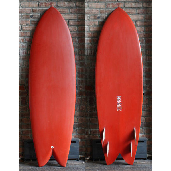 5'9″ MANDALA QUAD FISH