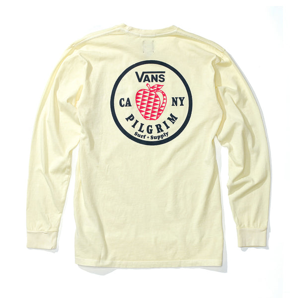 VANS + PILGRIM LS APPLE TEE