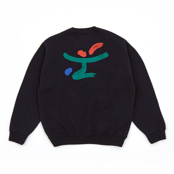 RECEPTION RED WINE CLUB CREW SWEATSHIRT